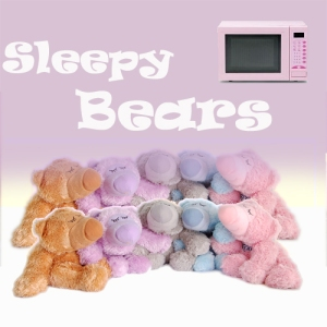 Microwave Sleepy Bears